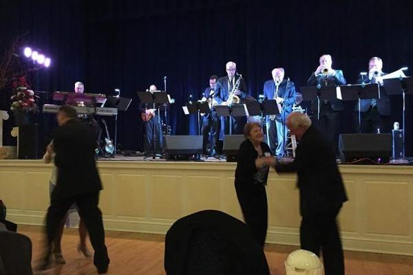 dancers enjoy music at 140th anniversary gala